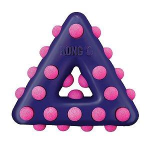 Brinquedo Interativo Kong Dotz Triangle para Cães