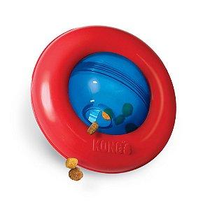 Brinquedo Recheável Kong Gyro para Cães