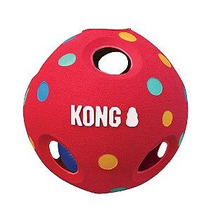 Brinquedo Kong Wiggi Tumble para Cães