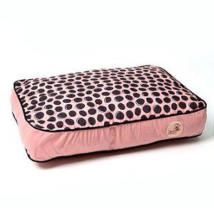 Almofada para Cachorros Biscoito Rosa