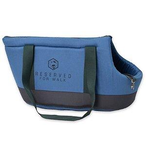 Bolsa de Passeio para Cachorros Reserved Azul