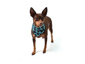 Bandana para Cachorros   Gatos Biscoito Azul