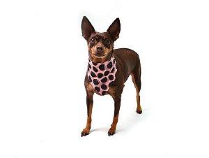 Bandana para Cachorros   Gatos Biscoito Rosa