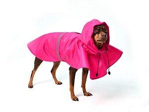 Capa de Chuva para Cachorros Basic It Pink