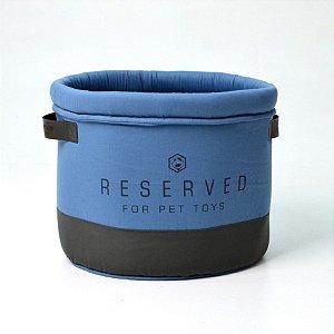 Cesto Organizador para Cachorro | Gatos Reserved Azul
