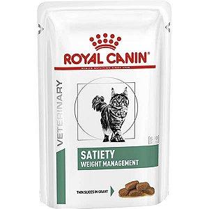 Ração Úmida Royal Canin Satiety Weight Management Feline Para Gatos Adultos 85g