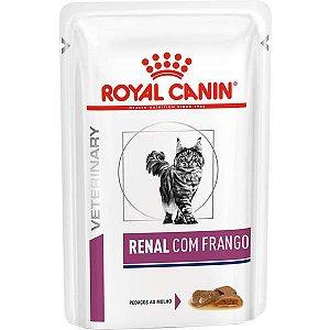 Ração Úmida Royal Canin Renal Feline Para Gatos Adultos 85g