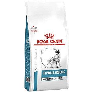 Ração Royal Canin Hypoallergenic Moderate Calorie Canine para Cães Adultos