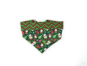 Bandana para Cachorros   Gatos Christmas Verde