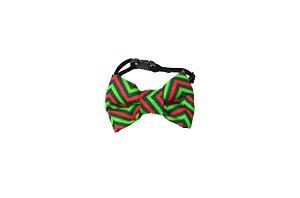 Laço/Gravata para Cachorros Natalino Verde