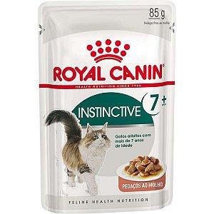 Ração Úmida Royal Canin Instinctive 7+ para Gatos Adultos 85g