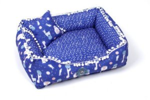 Cama para Cachorros Space Animal Azul
