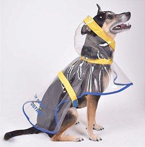 Capa de Chuva para Cachorros Vinil