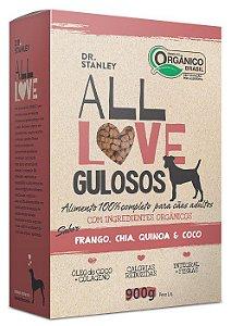 Ração Orgânica All Love para Cães Gulosos 900g