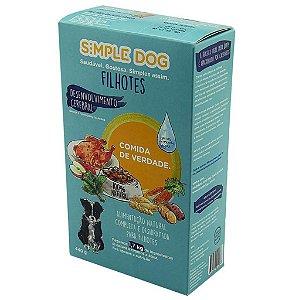 Ração para Cães Simple Dog Filhotes 440g