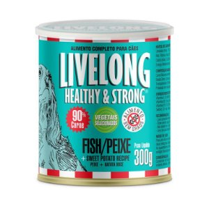 LiveLong Dogs Peixe 300g