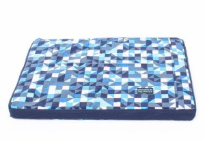 Colchão Impermeável para Cachorros Tetris Azul
