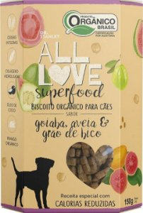 Biscoito Orgânico All Love Superfood | Goiaba, Aveia & Grão de Bico