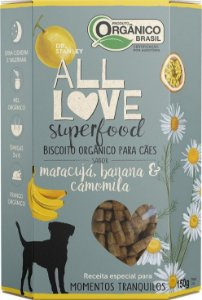 Biscoito Orgânico All Love Superfood | Maracujá, Banana & Camomila