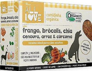 Comidinha Orgânica All Love para Cães Adultos 1kg