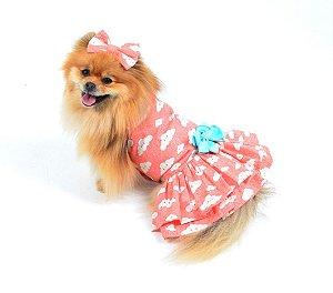 Vestido para Cachorro | Gato Ariel