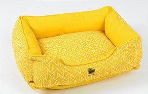 Cama Impermeável para Cachorros Sensation Amarelo