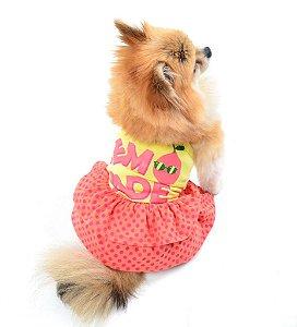 Vestido para Cachorro Lemonade