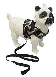 Peitoral com Guia para Cachorro Deluxe