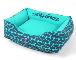 Cama para Cachorros The Big Boss Verde