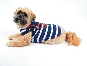 Regata para Cachorro Marinheiro