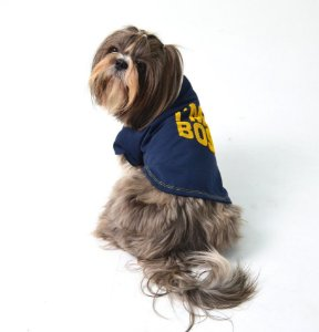Camiseta para Cachorro Big Boss Marinho