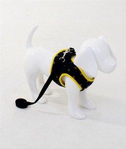 Peitoral para Cachorro Brilha Estrelinha