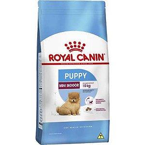 Ração Royal Canin Mini Indoor Puppy para Cachorros Filhotes de Raças Pequenas
