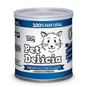 Ração Úmida Pet Delícia para Gatos Hipercalórica Gato