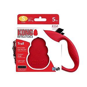Kong Guia Retrátil Trail Vermelha