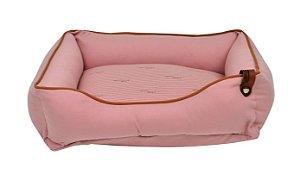 Cama para Cachorros | Gatos Sarja Premium Rosê