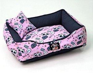 Cama para Cachorros | Gatos Sweet Dreams Rosa