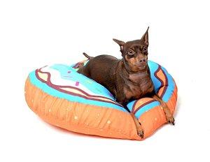 Almofada para Cachorros | Gatos Donuts Azul