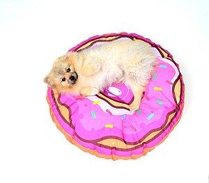 Almofada para Cachorros | Gatos Donuts Rosa