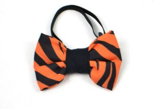 Laço/Gravata para Cachorros Tigre