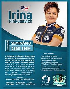 Seminário Online com Irina Pinkusevich - 20/08