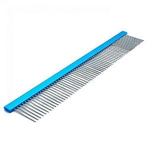 Pente 25cm Azul Quadrado