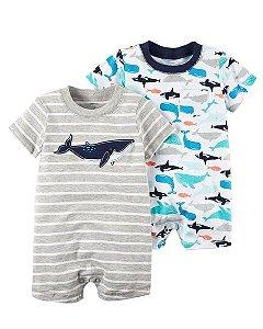 Conjunto 2 peças romper Tubarão - CARTERS