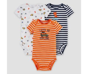 Kit body 3 peças Safari Just one You made by CARTERS