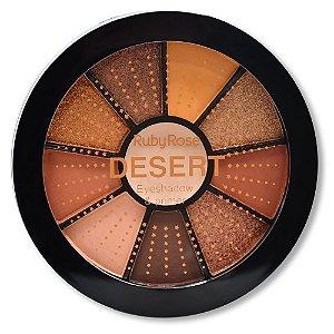 Mini Paleta De Sombras Desert - Ruby Rose HB99867