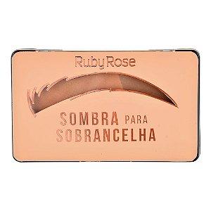Sombra Para Sobrancelha Caramelo - Ruby Rose HB93552