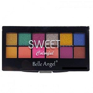Paleta de Sombras Sweet Colorful (A) - Belle Angel