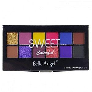 Paleta de Sombras Sweet Colorful (B) - Belle Angel