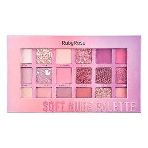 Paleta De Sombra Soft Nude Ruby Rose