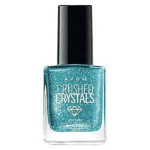Esmalte Avon Crushed Crystals 10ml Esmeralda